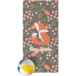 Foxy Mama Beach Towel