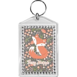 Foxy Mama Bling Keychain