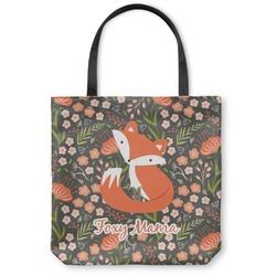 Foxy Mama Canvas Tote Bag
