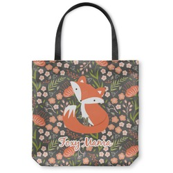 Foxy Mama Canvas Tote Bag