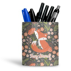 Foxy Mama Ceramic Pen Holder