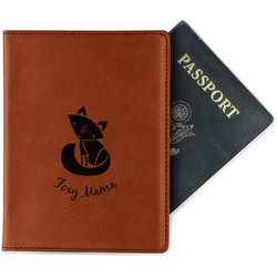 Foxy Mama Leatherette Passport Holder