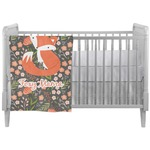 Foxy Mama Crib Comforter / Quilt