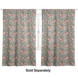 "Foxy Mama Curtains - 20""x63"" Panels - Unlined (2 Panels Per Set)"