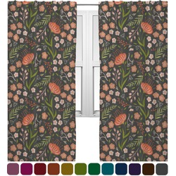 Foxy Mama Curtains (2 Panels Per Set)