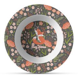 Foxy Mama Plastic Bowl - Microwave Safe - Composite Polymer