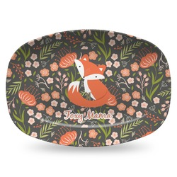 Foxy Mama Plastic Platter - Microwave & Oven Safe Composite Polymer