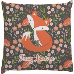 Foxy Mama Decorative Pillow Case