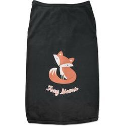 Foxy Mama Black Pet Shirt