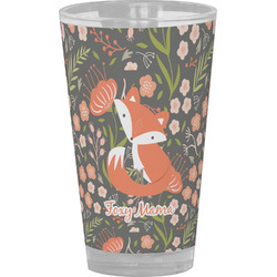 Foxy Mama Drinking / Pint Glass