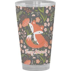Foxy Mama Drinking / Pint Glass