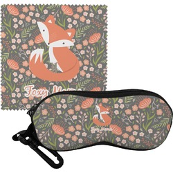 Foxy Mama Eyeglass Case & Cloth