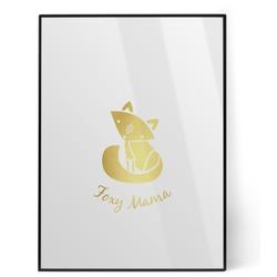 Foxy Mama Foil Print