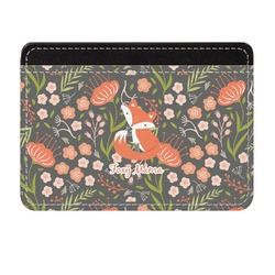 Foxy Mama Genuine Leather Front Pocket Wallet