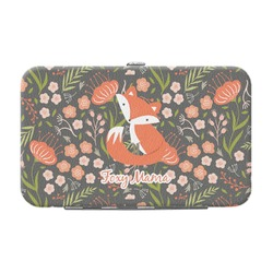 Foxy Mama Genuine Leather Small Framed Wallet