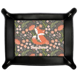 Foxy Mama Genuine Leather Valet Tray