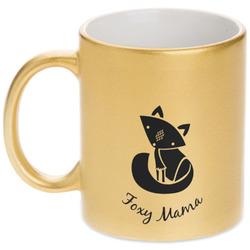 Foxy Mama Gold Mug