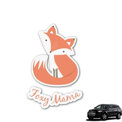 Foxy Mama Graphic Car Decal