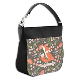 Foxy Mama Hobo Purse w/ Genuine Leather Trim