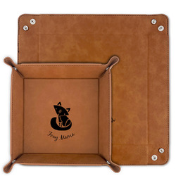Foxy Mama Faux Leather Valet Tray