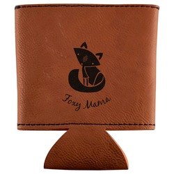 Foxy Mama Leatherette Can Sleeve
