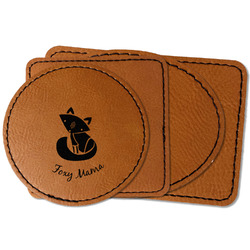 Foxy Mama Faux Leather Iron On Patch