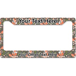 Foxy Mama License Plate Frame