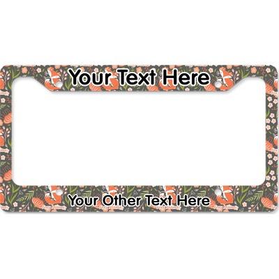 Foxy Mama License Plate Frame