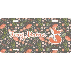 Foxy Mama Front License Plate