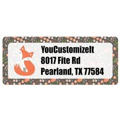 Foxy Mama Return Address Labels
