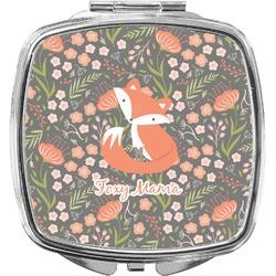 Foxy Mama Compact Makeup Mirror