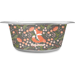 Foxy Mama Stainless Steel Pet Bowl