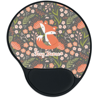 Foxy Mama Mouse Pad with Wrist Support