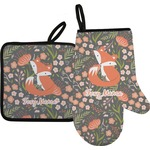 Foxy Mama Oven Mitt & Pot Holder