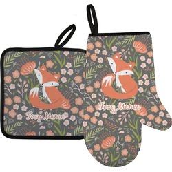 Foxy Mama Oven Mitt & Pot Holder