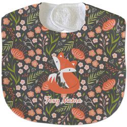 Foxy Mama Velour Baby Bib