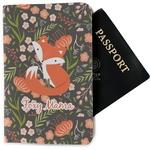 Foxy Mama Passport Holder - Fabric