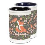 Foxy Mama Ceramic Pencil Holder - Large