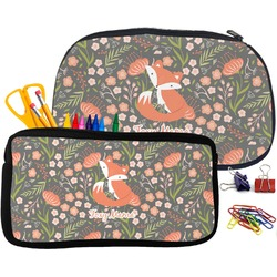 Foxy Mama Pencil / School Supplies Bag