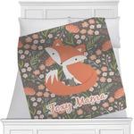 Foxy Mama Minky Blanket