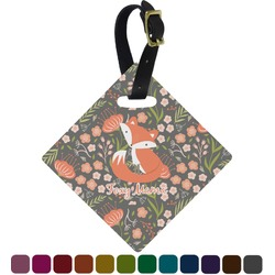 Foxy Mama Diamond Luggage Tag