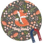 Foxy Mama Round Magnet