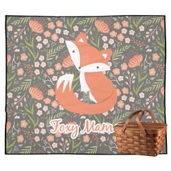 Foxy Mama Outdoor Picnic Blanket