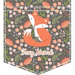 Foxy Mama Iron On Faux Pocket