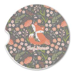 Foxy Mama Sandstone Car Coasters