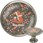 Foxy Mama Cabinet Knob (Silver)