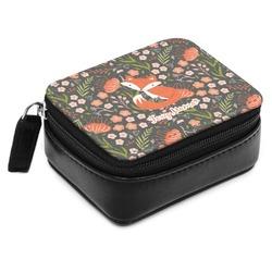 Foxy Mama Small Leatherette Travel Pill Case