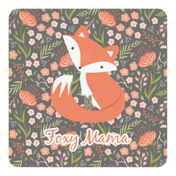 Foxy Mama Square Decal - Custom Size
