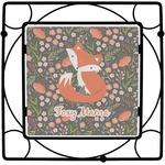 Foxy Mama Square Trivet