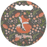 Foxy Mama Stadium Cushion (Round)